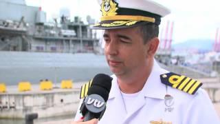 Dia 13 de dezembro é comemorado o dia do marinheiro e para festejar a data, a marinha enviou para o Porto de Santos a fragata União. Para mais ...