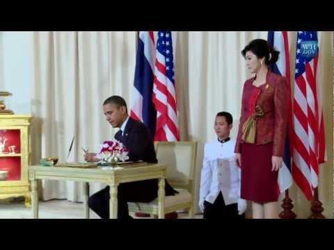 President Obama Made An Historic Trip To Thailand - Hello Burma!