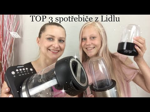 Top 3 spotřebiče z Lidlu