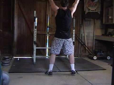 Overhead Squat: 175 lbs x 1