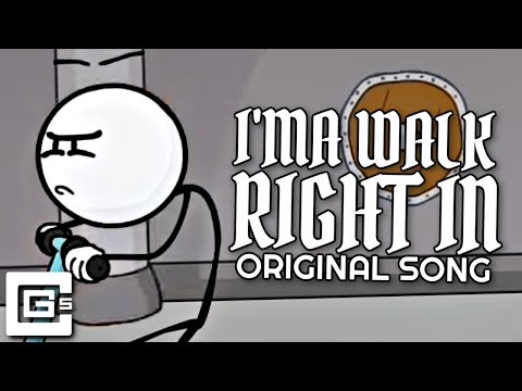 """HENRY STICKMIN SONG ▶ """"I'ma Walk Right In"""" (Stealing the Diamond) 