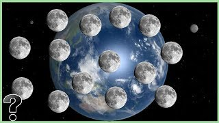 What If The Earth Had 67 Moons?