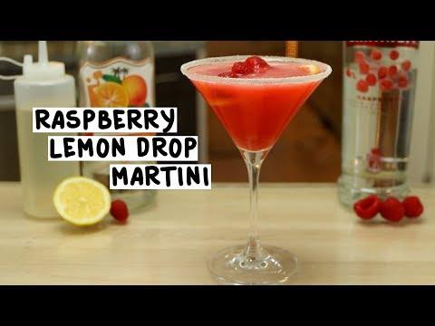 Raspberry Lemondrop Martini