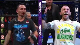 UFC 245: Alexander Volkanovski & Max Holloway Octagon Interview by UFC