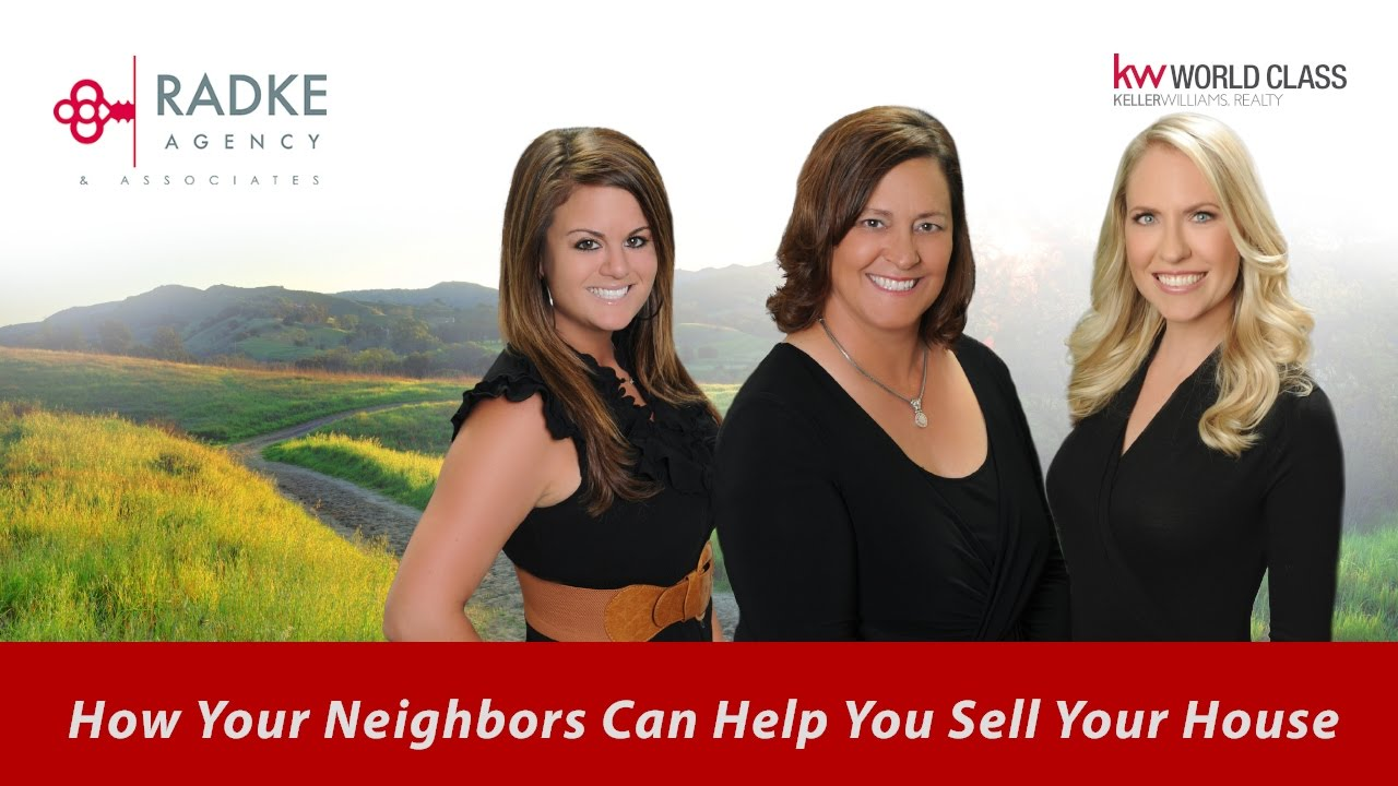 How Your Neighbors Can Help You Sell Your Home