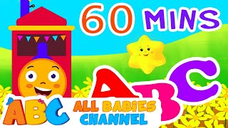 ABC Train Song | ABC Songs for Children & Nursery Rhymes | All Babies Channel