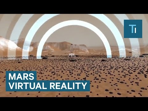 This VR app lets you walk on Mars