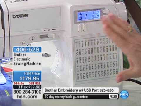 Sewing Machine - Shop Brother Sewing Machines on hsn.com: http://www.hsn.com/crafts-sewing/brother_c-ct_a-43_xc.aspx?cm_mmc=Social-_-Youtube-_-na-_-406529 The Brother Electro...