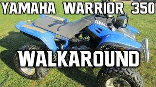 1. 1990 Yamaha Warrior 350 In Depth Walkaround
