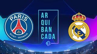PSG x REAL MADRID (narração AO VIVO) - Champions League