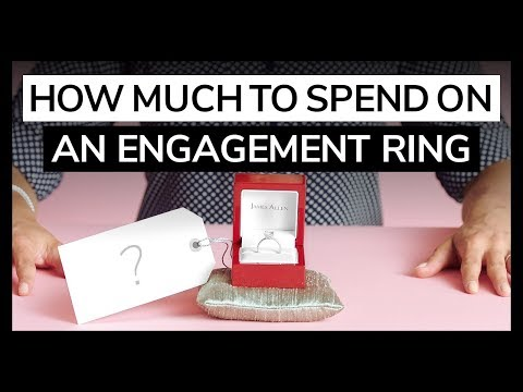 How Much to Spend on an Engagement Ring by JamesAllen.com | Featuring HowHeAsked