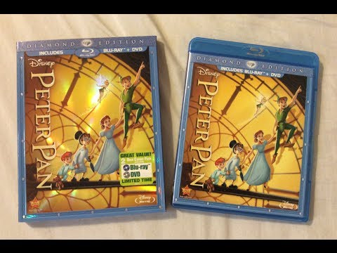 Peter Pan: Diamond Edition (1953) - Blu Ray Review And Unboxing