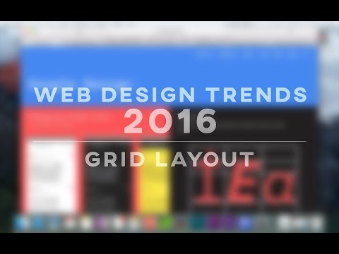 Web Design Trends 2016 – Grid Layouts