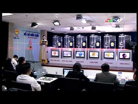 Xổ số kiến thiết TP.HCM || HTV1 || 08/02/2021