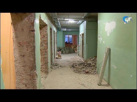 Главный федеральный инспектор Вадим Непряхин проверил ремонт детской областной больницы