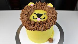 Leo the Lion Cake I CHELSWEETS