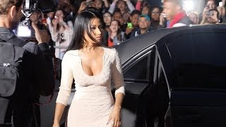 Nicki Minaj steps out of the Maybach for The Other Woman