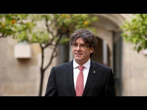 Νέο δημοψήφισμα για την ανεξαρτητοποίηση της Καταλονίας την 1 Οκτωβρίου, ανακοίνωσε ο πρόεδρος…