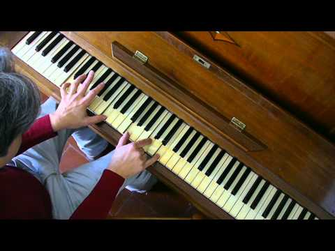 How to REALLY Play Let it be on Piano Lesson Tutorial Beatles PART 2