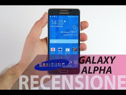 Samsung Galaxy Alpha, recensione in i...