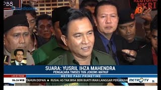 Video [Full] Yusril Ungkap Alasan 'Bela' Jokowi-Ma'ruf MP3, 3GP, MP4, WEBM, AVI, FLV April 2019