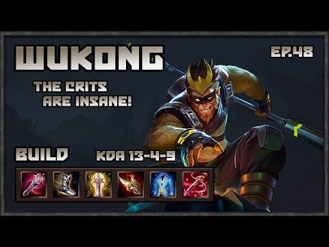Arena of Valor: Wukong Gameplay! The Criticals King!