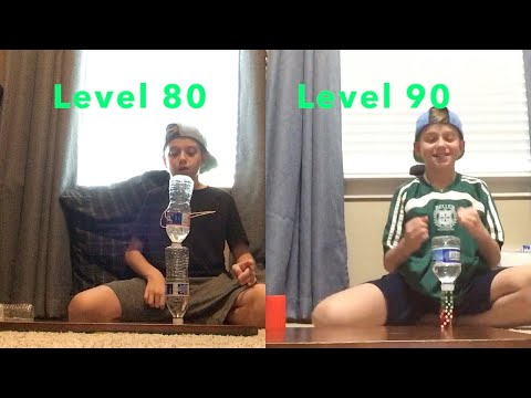 Trick Shots Level 1 To Level 100  Inspired By That's Amazing!