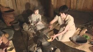 縄文人の生活再現