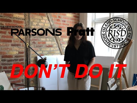 Don't Go to Art School - ex Parsons Student