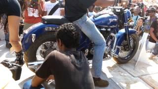 Baga India  city photos : India Bike Week Goa - Baga Beach Vagator - Loudest Bike Challenge