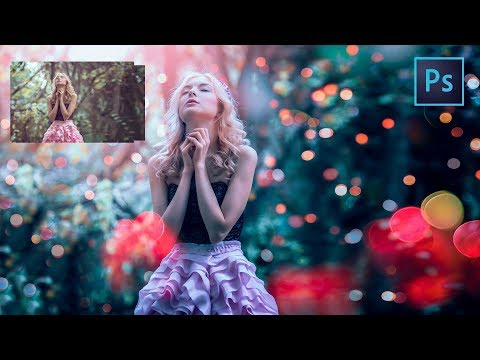 Video [ Photoshop Tutorial ] Cinematic BOKEH and BLUR BACKGROUND using Photoshop download in MP3, 3GP, MP4, WEBM, AVI, FLV January 2017