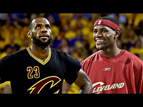 LeBron James BEST Dunk Each Year In The NBA! (2003-2016 Regular Season)
