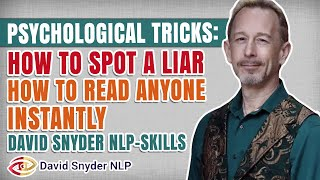 Video Psychological Tricks: How To Spot a Liar | How To Read Anyone Instantly |David Snyder MP3, 3GP, MP4, WEBM, AVI, FLV September 2019