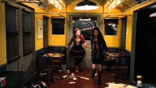 Wizards Of Waverly Place The Movie - Train Scene