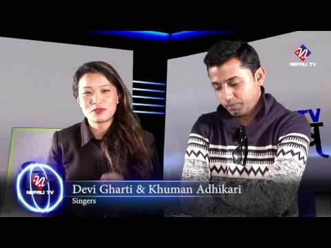 Devi Gharti and Khuman Adhikari on NTV Bisesh with Dhruba Raj Aryal (on HD)