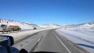 Evanston (WY) United States  City pictures : Evanston, Wyoming and the Three Sisters on Interstate 80 Eastbound