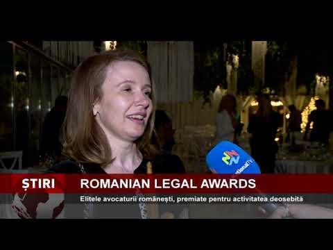 Elitele avocaturii românești, premiate pentru activitatea deosebită, la gala Romanian Legal Awards