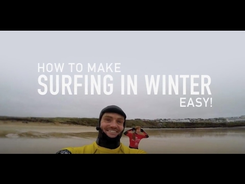 How to make surfing in the winter easy? Newquay Activity Centre Surf School