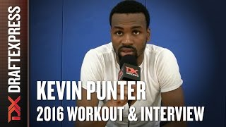 Kevin Punter - 2016 Pre-NBA Draft Shooting Workout & Interview