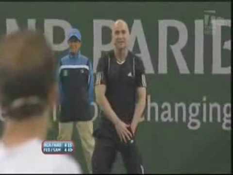 La pelea entre Pete Sampras y Andre Agassi