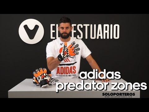 Review Guantes Adidas Predator Zones WC