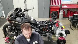 1. HONDA GOLD WING WITH CALIFORNIA SIDE CAR VIPER TRIKE BUILD, TIME LAPSE VIDEO!