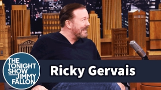 Video Ricky Gervais Refuses to Give Up Eating or Drinking to Lose Weight MP3, 3GP, MP4, WEBM, AVI, FLV Maret 2019