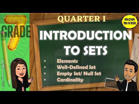 INTRODUCTION TO SETS || GRADE 7 MATHEMATICS Q1