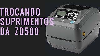 Trocar suprimentos ZD500
