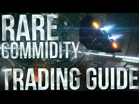 Elite: Dangerous – Rare Commodities Trading Guide – Make 600k-1 Million Credits an Hour Easily!