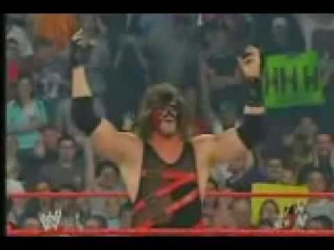 mask kane - Kane is forced to take off his mask after he loses the match.