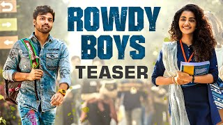 Rowdy Boys Teaser – Ashish, Anupama | Devi Sri Prasad | Harsha Konuganti |