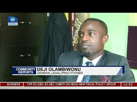 How Well Have Lawyers Performed In Nigeria Pt.3  Community Report 