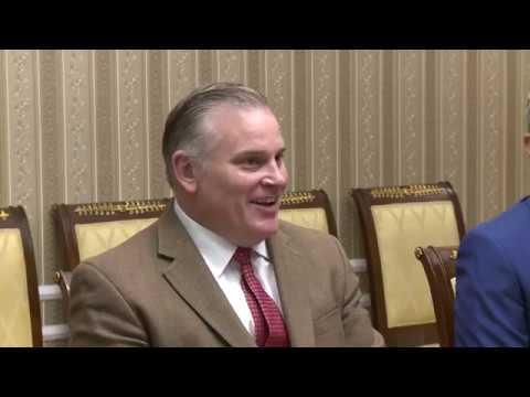 Президент Республики Молдова Игорь Додон провел встречу с президентом Всемирной организации по делам семьи Брайаном Брауном
